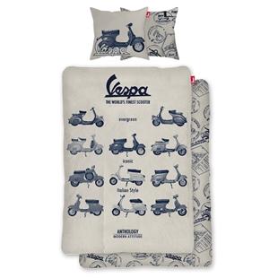 Image du produit 'Literie Vespa The World's Finest Scooter taille: 135x200cm / 80x80cm'