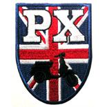 """Image du produit 'Insigne cousue """"blason PX"""", Angleterre'"""