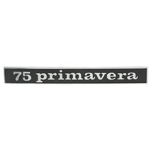 """Image du produit 'Insigne """"75 primavera"""" arrière arrière'"""