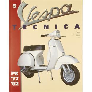 """Image du produit 'Manuel """"Vespa Tecnica 5"""" PX 1977/2002'"""