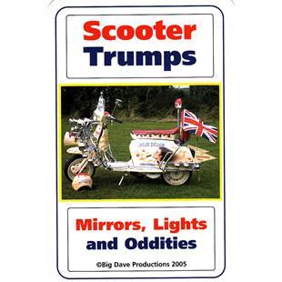 "Image du produit 'Jeu de cartes SCOOTER TRUMPS ""Mirrors, Lights and Oddities""'"