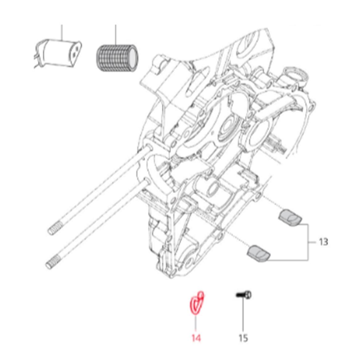 Image du produit 'Tôle de maintien LML câble de transmission'