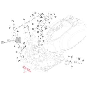 Image du produit 'Contour de tablier PIAGGIO cadre'