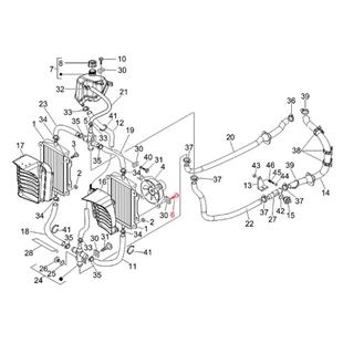 Immagine del prodotto per 'Vite rivestimento M6x16 mm, vite con testa a croce, testa piatta, PIAGGIO'