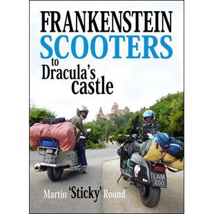 """Immagine del prodotto per 'Libro """"Frankenstein scooters to Dracula's castle""""'"""