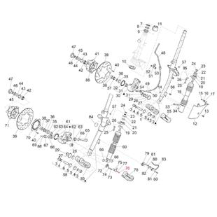 Immagine del prodotto per 'Vite Sensore ABS M5x16 mm, testa bombata Torx, PIAGGIO'