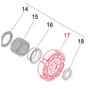 Immagine del prodotto per 'Frizione PIAGGIO'