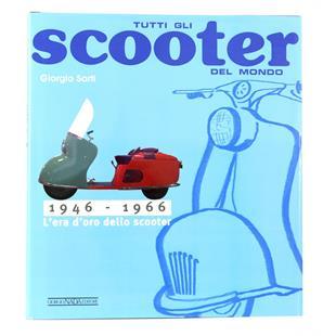 """Immagine del prodotto per 'Libro """"Tutti gli Scooter del mondo 1946-1966""""'"""