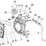 Immagine del prodotto per 'Vite statore M5x25 mm, esagonale interna, PIAGGIO'