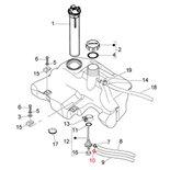 Immagine del prodotto per 'Moletta stringitubo tubo per la benzina, PIAGGIO'