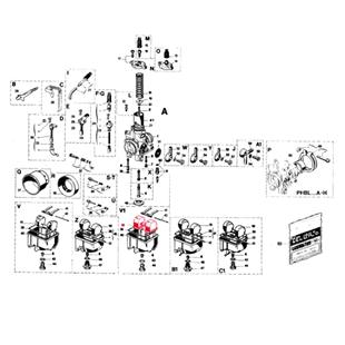Immagine del prodotto per 'Galleggiante DELL'ORTO 3,6 gr.'