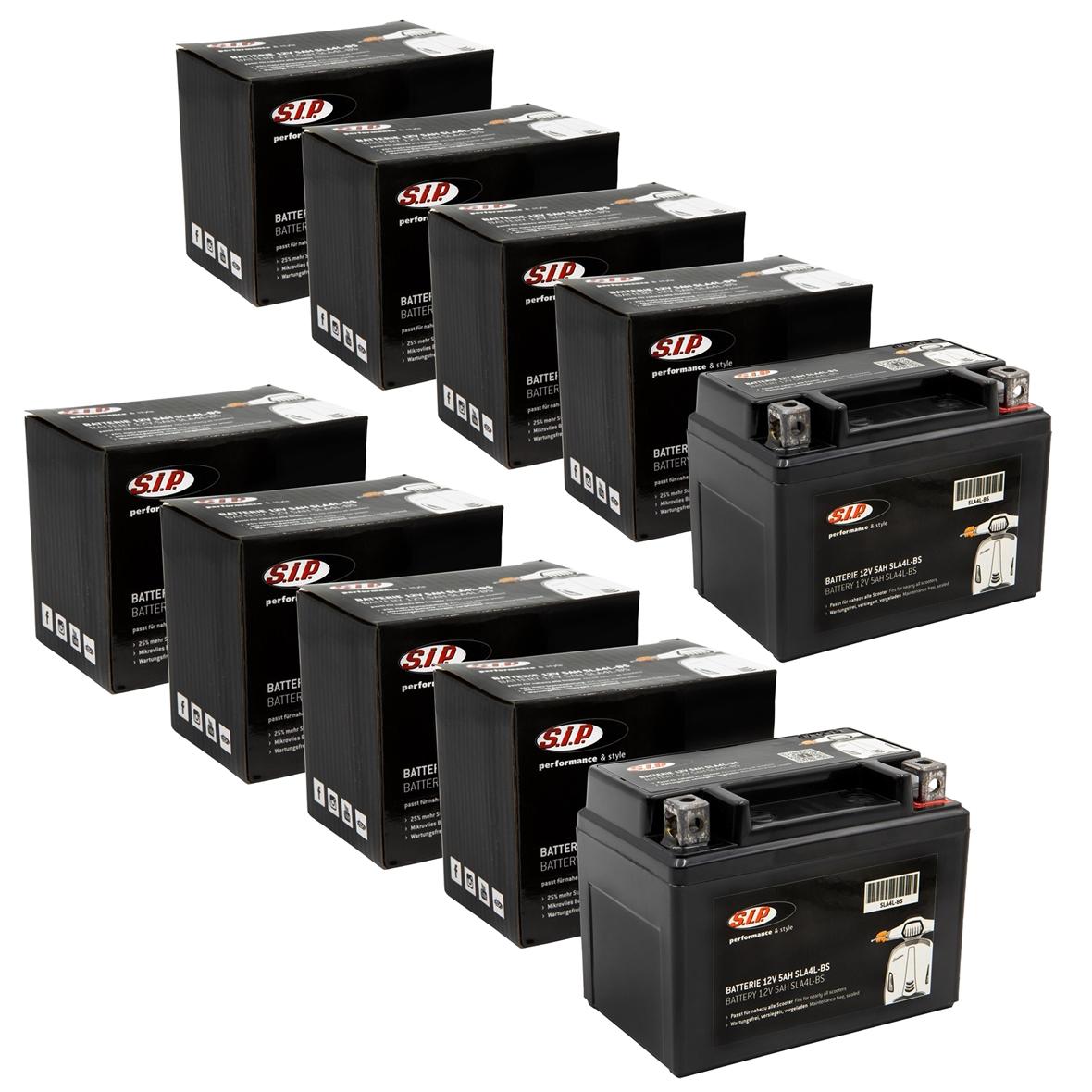 「バッテリー SIP 12V/5Ah, SLA12-4Title」の製品画像