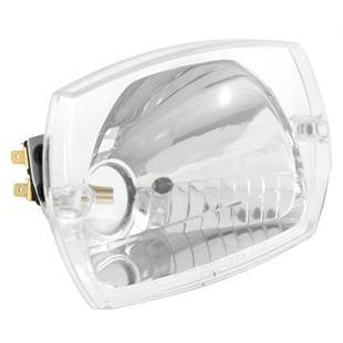 「ヘッドライト BOSATTA トラピーズ型 Ø 90x140 mmTitle」の製品画像