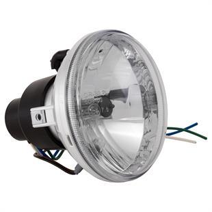 「ヘッドライト クリアガラスH1 ラウンド Ø 115 mmTitle」の製品画像