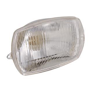 「ヘッドライト 四角 Ø 90x140 mmTitle」の製品画像