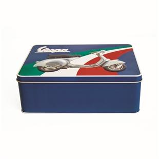 「ブリキ缶 FORME Vespa TricoloreTitle」の製品画像