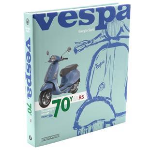 Productafbeelding voor 'Boek Vespa 70 YEARS The complete history from 1946Title'