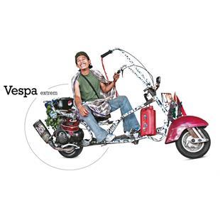 Productafbeelding voor 'Boek dMatto Vespa extrem #WERT!Title'