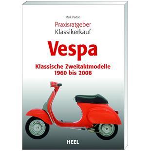 Productafbeelding voor 'Boek Vespa Klassieke tweetaktmodellen 1960 - 2008 Praxisratgeber KlassikerkaufTitle'