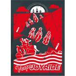 """Productafbeelding voor 'Briefkaart SIP """"Joyride""""Title'"""