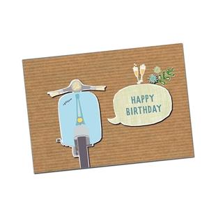 Productafbeelding voor 'Briefkaart SIP Happy Birthday BoyTitle'