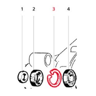 Productafbeelding voor 'Borgring LML lager aandrijfasTitle'