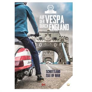 Productafbeelding voor 'Boek Auf der Vespa durch EnglandTitle'