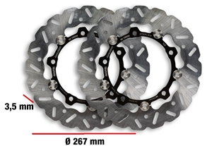 Productafbeelding voor 'brake disc MALOSSI Whoop Disc Ø 26x3,5 mm, 2 pc.Title'