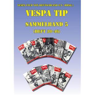 Productafbeelding voor 'Boek VESPA-TIP Sammelband 5, Heft 38-46Title'