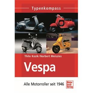 Productafbeelding voor 'Boek Vespa - Alle scooters sinds 1946 types overzichtTitle'