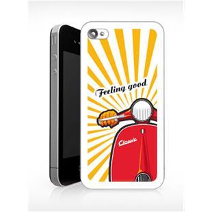 """Productafbeelding voor 'Beschermhoes SIP iPhone 5 """"Feeling Good""""Title'"""