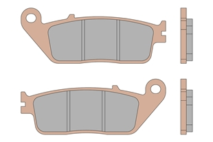 Productafbeelding voor 'BRAKE PADS MHR SYNTTitle'