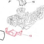 Productafbeelding voor 'Beschermkap Cilinder onder PIAGGIOTitle'