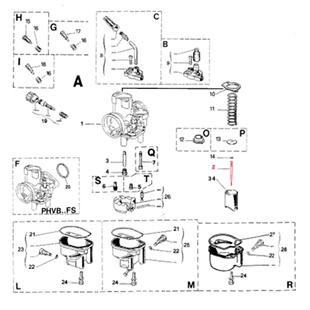 Productafbeelding voor 'Sproeiernaald DELL'ORTO M7Title'