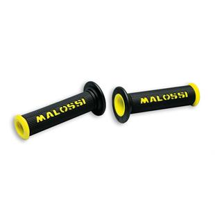 Productafbeelding voor 'BLACK PAIR GRIPS with YELLOW Malossi logTitle'
