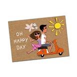 Productafbeelding voor 'Briefkaart SIP Oh happy DayTitle'