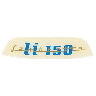 Productafbeelding voor 'Typeplaatje Lambretta LI 150 achterTitle'