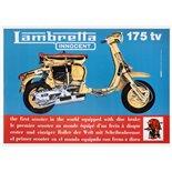Zdjęcie produktu dla 'Poster Lambretta TV 175Title'
