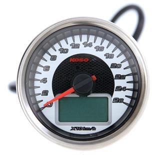 Zdjęcie produktu dla 'Prędkościomierz KOSO chrom Style DigitalTitle'