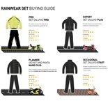 Zdjęcie produktu dla 'Przeciwdeszczowe nakładki na spodnie TUCANO URBANO Nano Plus rozmiar :LTitle'