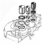 Zdjęcie produktu dla 'Przebijak SIP łożysko montaż stronie alternatoraTitle'