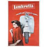 Zdjęcie produktu dla 'Poster Lambretta czerwone kobietyTitle'