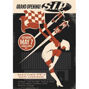 Zdjęcie produktu dla 'Poster SIP SIP Open Day 2016Title'