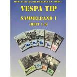 Zdjęcie produktu dla 'Książka VESPA-TIP Sammelband 1, Heft 1-9Title'