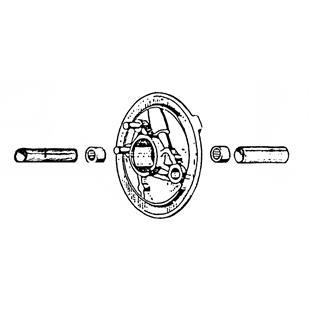 """Imagem de Produto para """"Punção de montagem montagem rolete agulhas placa de fixação travão interiorTitle"""""""