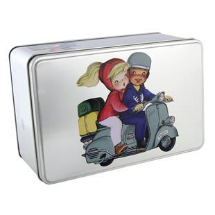 """Imagem de Produto para """"Caixa de oferta Memory Ferrándiz com motivo VespaTitle"""""""