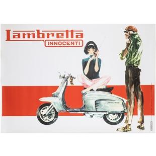 """Imagem de Produto para """"Poster Lambretta LIS 150Title"""""""