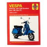 "Imagem de Produto para ""Livro de bolso HAYNES Vespa P/PX125, 150 & 200 (inkl. LML Star 2T) '78-'14 Service & Repair ManualTitle"""
