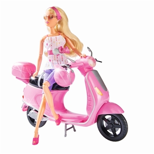 "Imagem de Produto para ""Boneco Steffi LOVE Chic City ScooterTitle"""