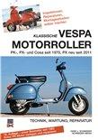 """Imagem de Produto para """"Livro de bolso Klassische VESPA Motorroller- alle PK, PX, Cosa seit 1970 técnica, manutenção, reparaçãoTitle"""""""